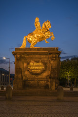 Friedrich August of Saxony - the golden rider