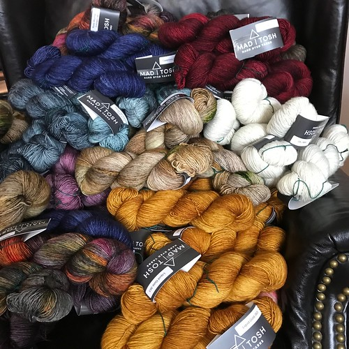 Madelinetosh has landed in the shop! Mostly Tosh Merino Light but also some Tosh DK!