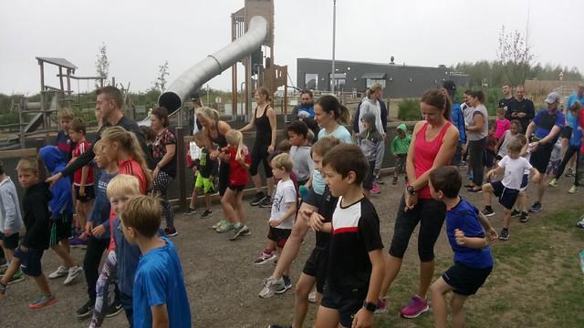 Gedling junior parkrun 19th August 2018