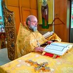 Божественная литургия в Свято-Вознесенском кафедральном соборе города-курорта Геленджик