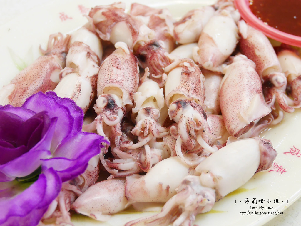 基隆一日遊景點行程推薦和平島漁市大街平價環港海鮮餐廳 (2)