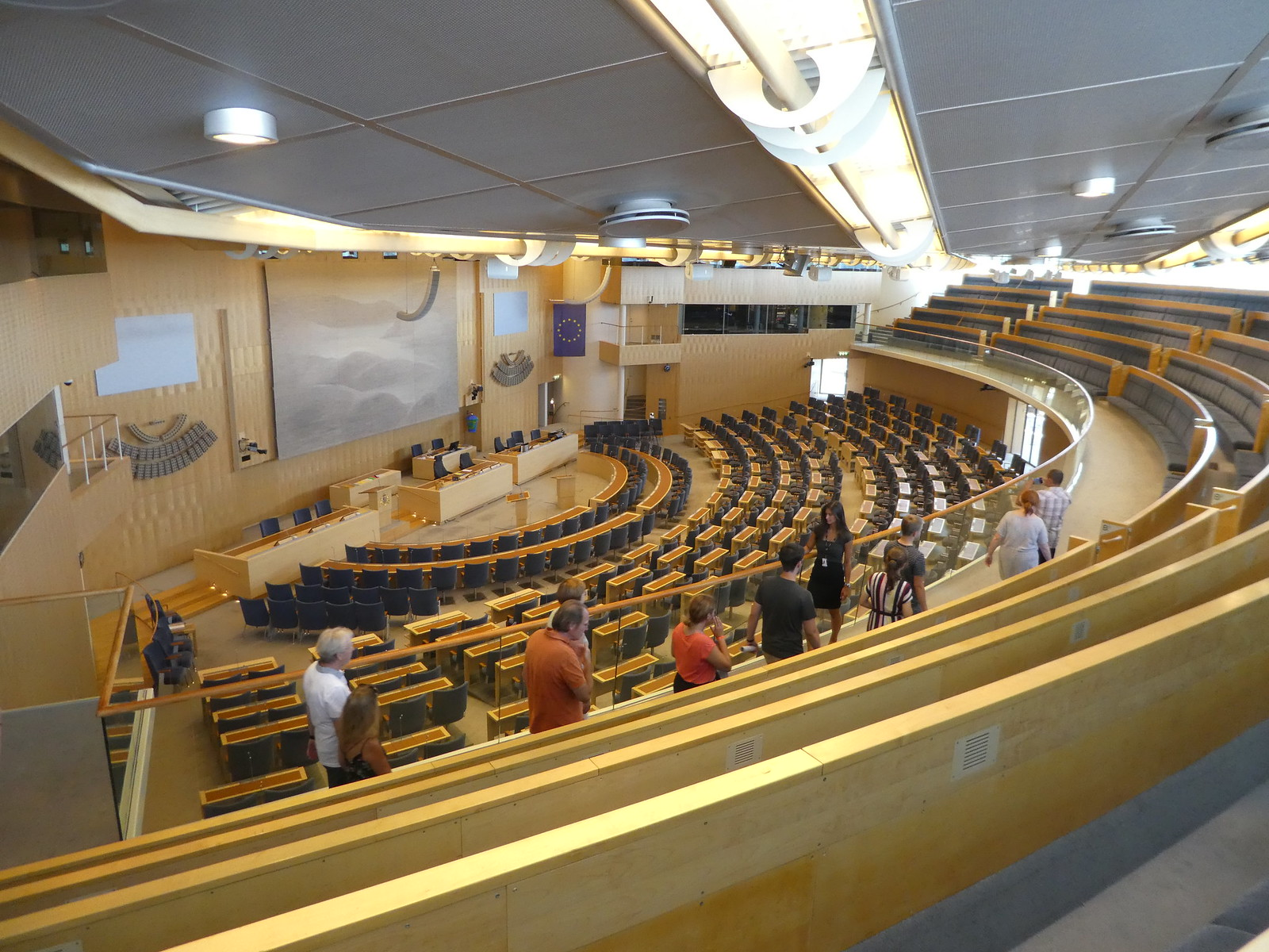 The Chamber, Swedish Parliament, Stockholm