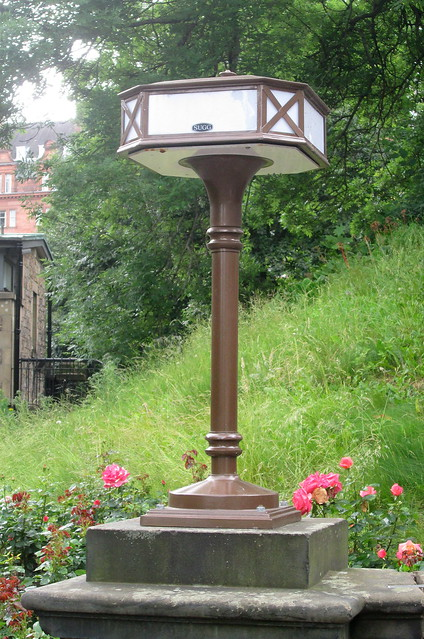 Art Deco Lamp Standard, Princes Street Gardens, Edinburgh