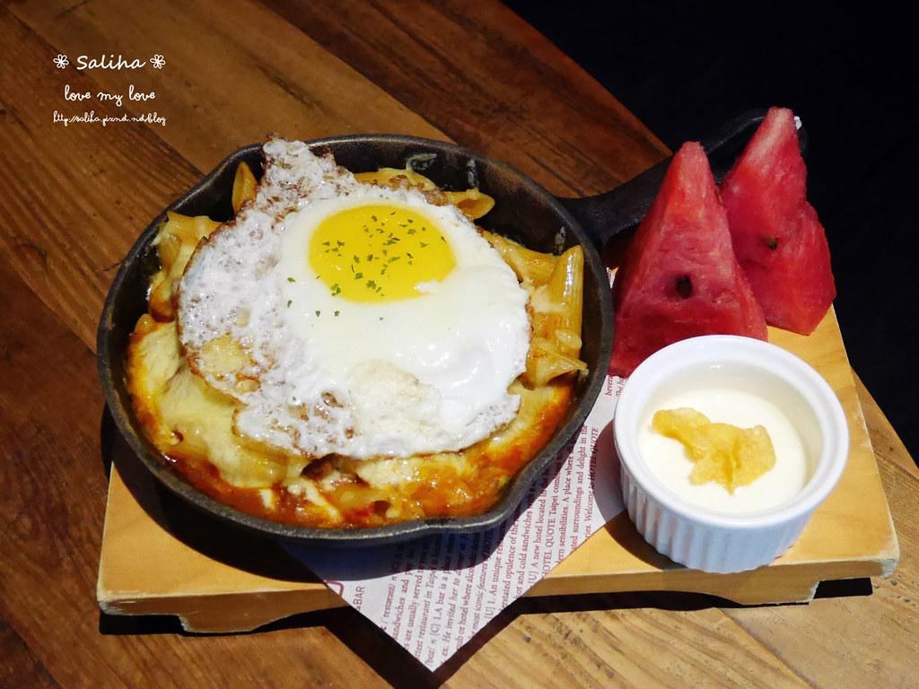 台北松山小巨蛋站quote333餐廳假日早午餐松露薯條吃到飽 (1)