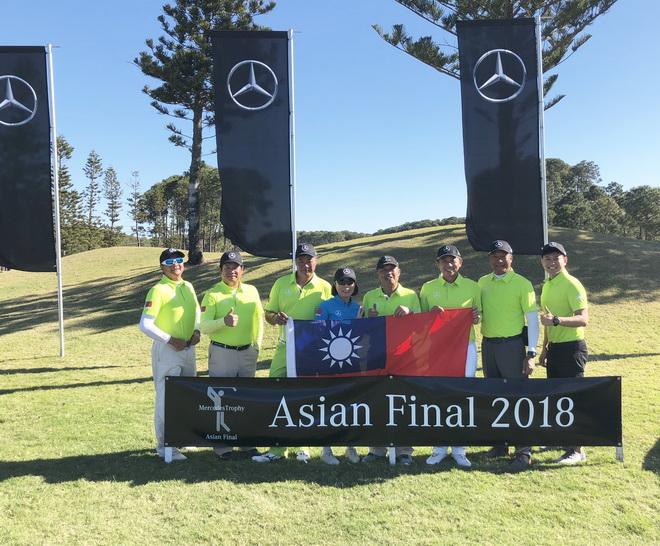 由六名男子組代表與女子組冠軍組成的台灣代表隊於澳洲布里斯本舉辦的亞洲區決賽表現傑出