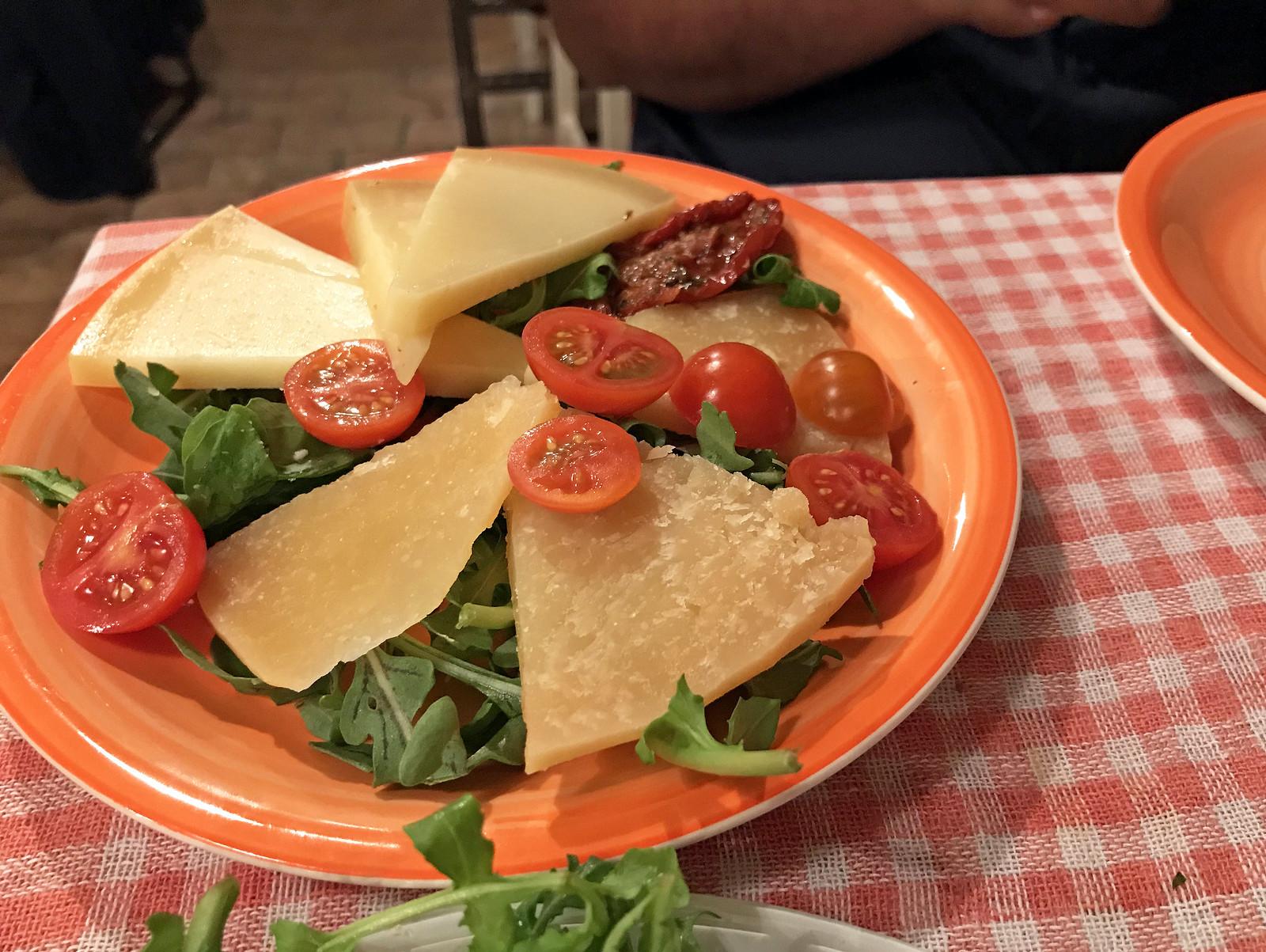 Pag cheese at Villa Spiza