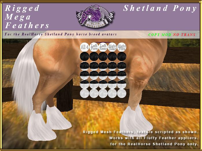 E-RH-Shetland-RiggedMeshFeathers-Mega - TeleportHub.com Live!