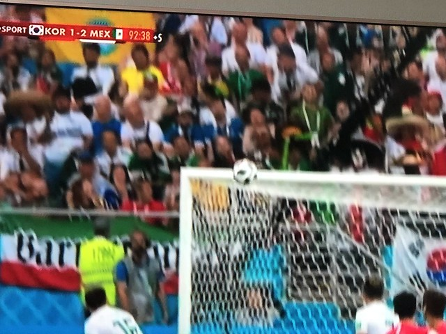 South Korea 1 - 2 Mexico