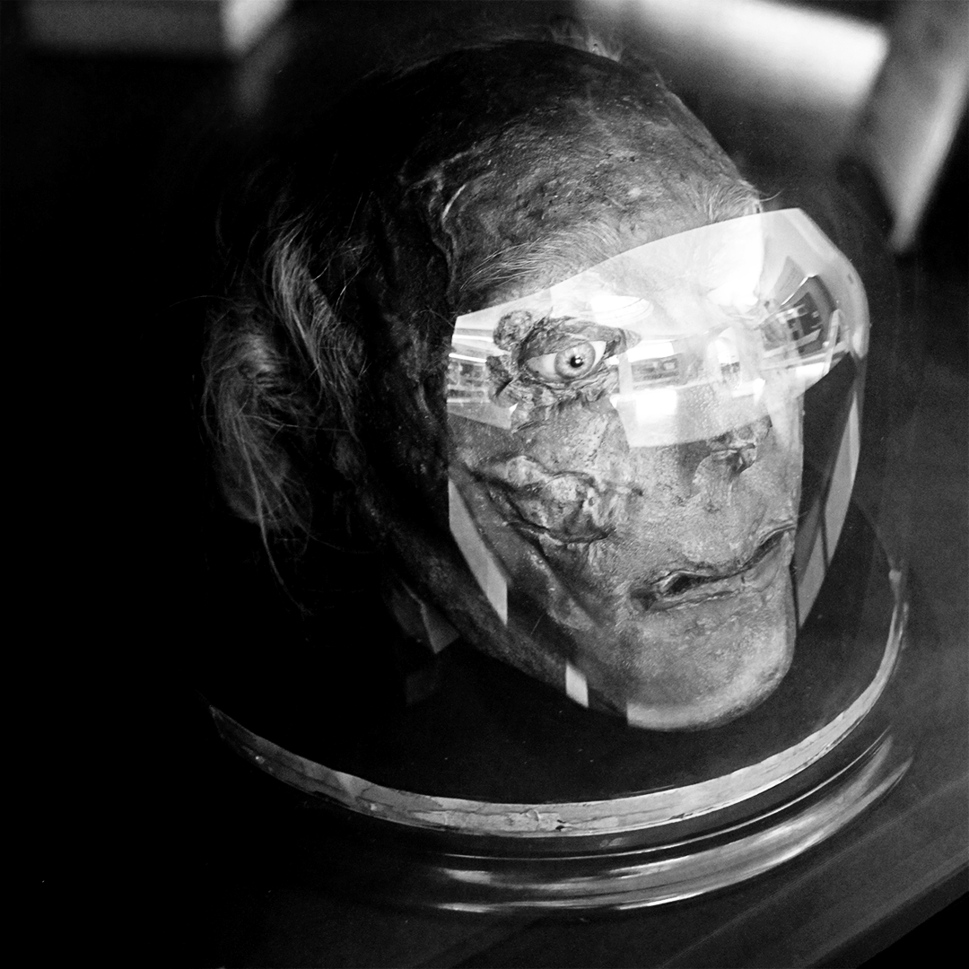 Jeremy Bentham's preserved head