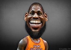 LeBron James - Caricature