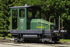 TM I 102 der CTVJ für Rangierfahrten in Le Pont