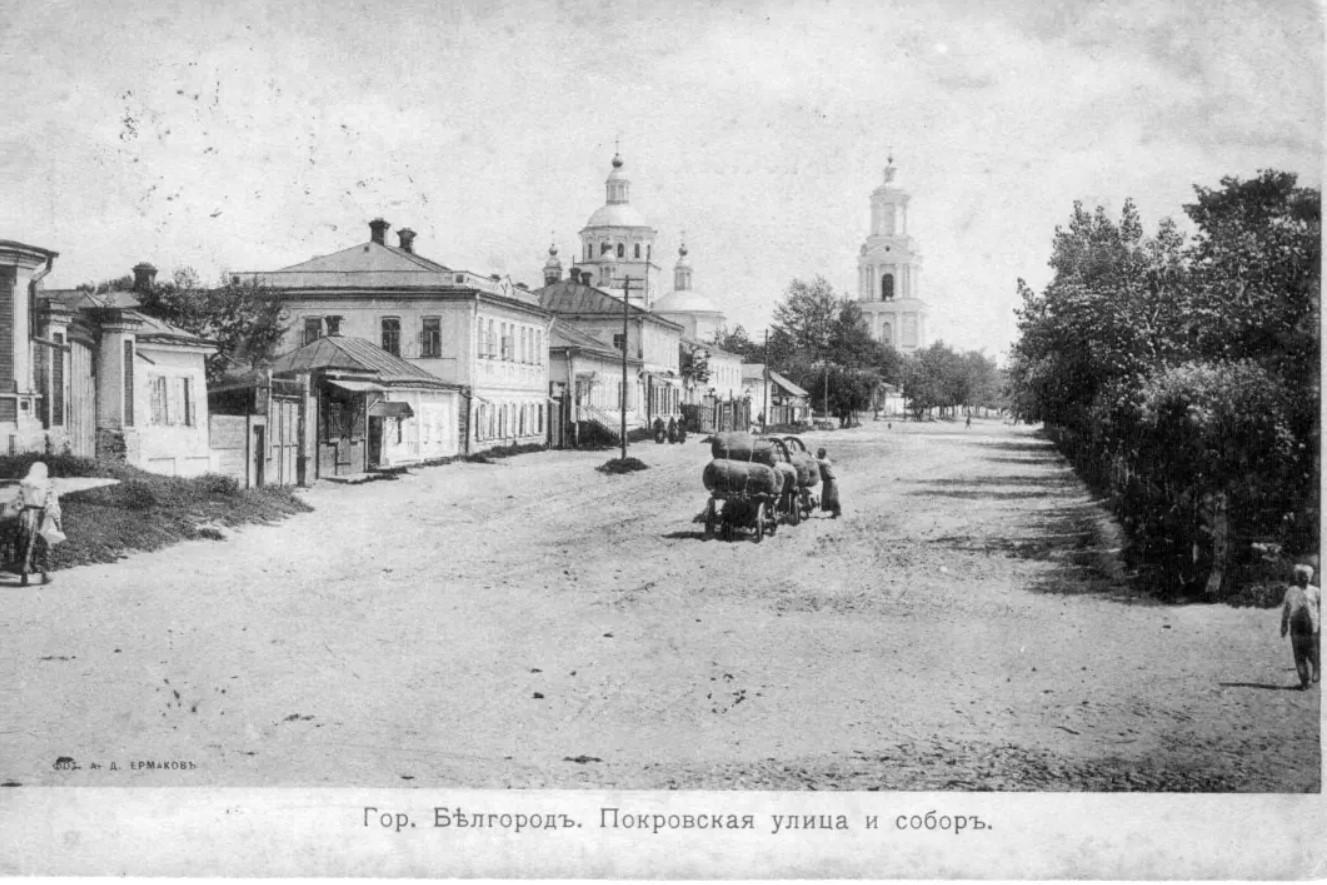 Покровская улица и Свято-Троицкий собор
