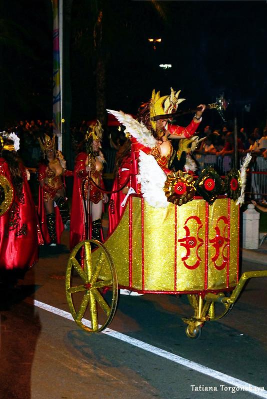 Выступление карнавальной группы Струмицы в Которе
