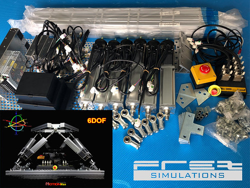 FREX HexaMotion Simulator Kit