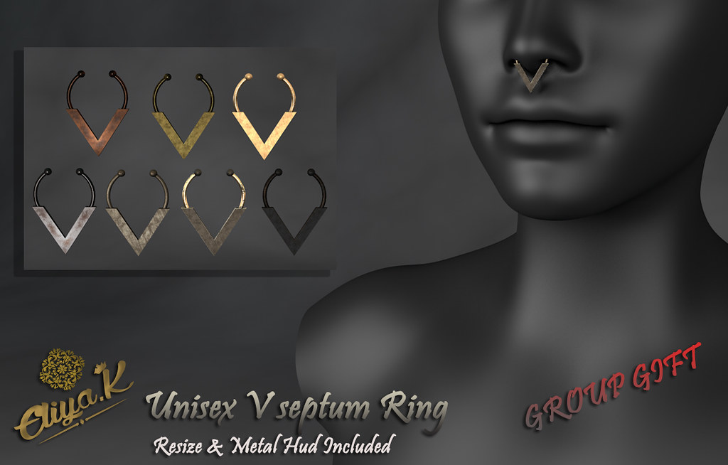 Eliya.K Presents UNISEX V septum Group Gift