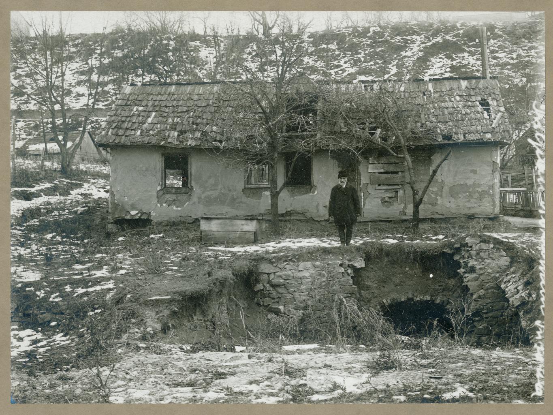 Разрушенный дом в Сучаве, Румыния