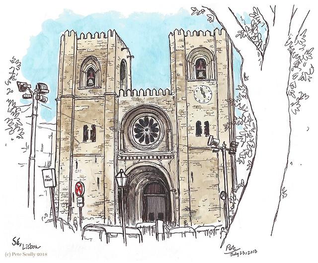 Lisbon Se Cathedral sm