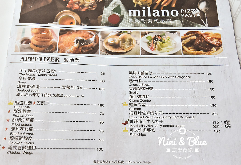 員林義大利麵推薦 米蘭街 彰化員林06