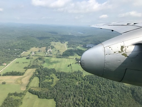 View from the B-25 flight
