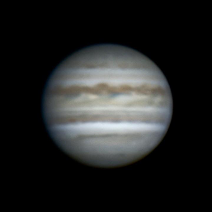 木星 (2018/8/14 19:13-19:22) (1500/2000 x4 de-rotation (19:18) LRGB)