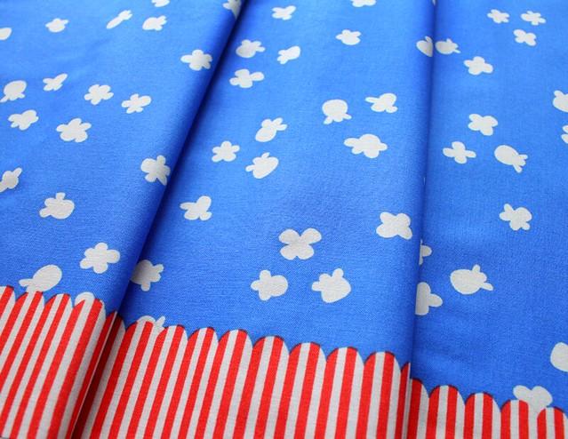 COTTON+STEEL Penny Arcade 3030-1 Popcorn Sky Blue