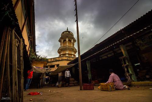 The iconic Russel Market, Bengaluru