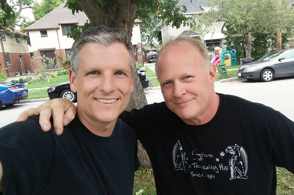 Paulie Morris and me