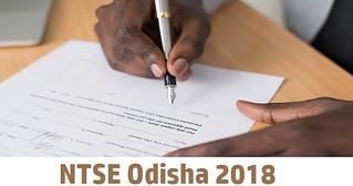 NTSE Odisha 2018