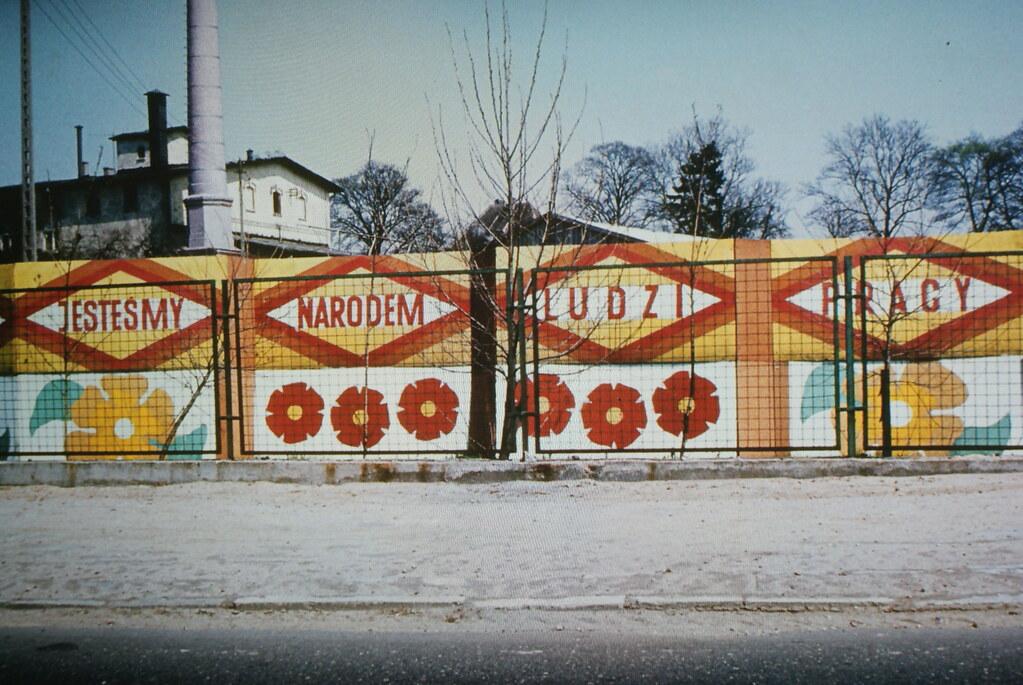 """""""Nous sommes une nation de travailleur"""" au Mocak de Cracovie."""
