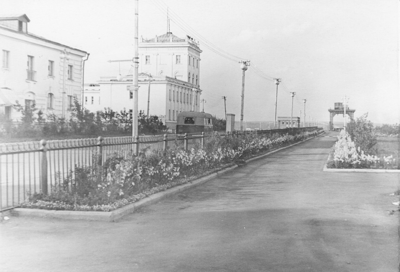 1960-е. Улица Ангаргэсстроя