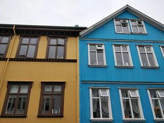 Maisons en tôle