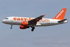 G-EZBZ easyJet Airline A319 London Gatwick Airport