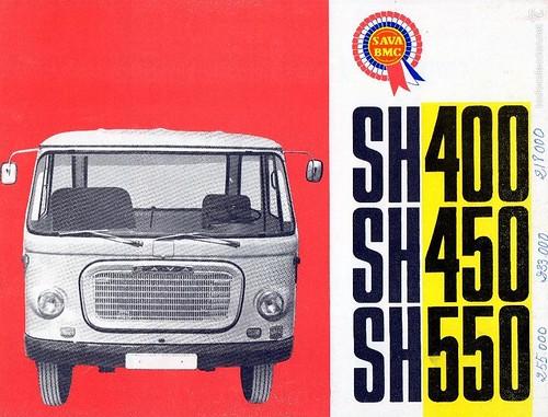 portada catàleg camió Sava SH 1965