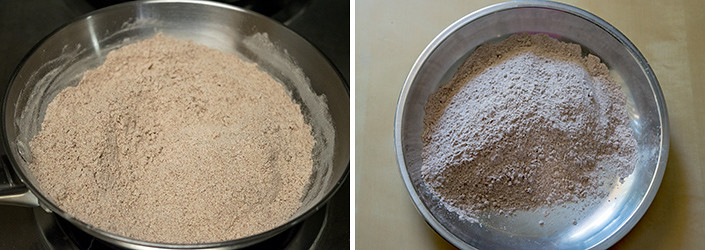Homemade Ragi Malt cooking steps by GoSpicy.net