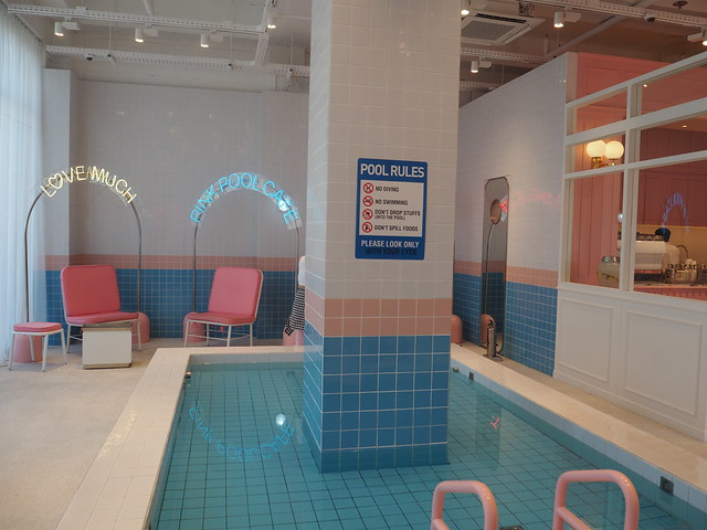 P6168293 STYLENANDA(スタイルナンダ) pink pool cafe(ピンクプールカフェ) 핑크풀카페 弘大 ソウルカフェ ひめごと