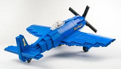 Blue Angels F8F-1 Bearcat [Tail]