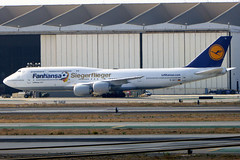 D-ABYI Boeing 747-830 DLH LAX