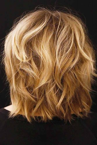 Best Medium Length Haircuts For Thick Hair 2019 -Amazing Look 6