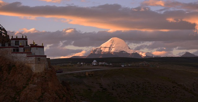 Sunset Kailash, Tibet 2017