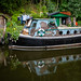 Gipsy on the Rochdale Canal, Hebden Bridge by Bob Radlinski