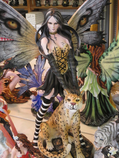 Fairy With Leopard