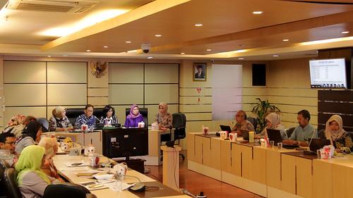 Pelaksanaan Evaluasi PIS PK di Wilayah Binaan Ditjen Farmalkes melalui Webinar
