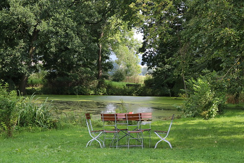 Teich am Stiftsgut Wilhelmsglücksbrunn