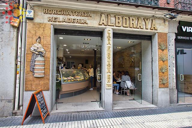 as melhores sorveterias de Madri: Horchatería Heladería Alboraya, Madrid
