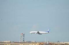 ANA B777 JA751A Arriving at Haneda Airport 5