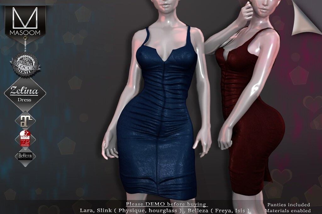 [[ Masoom ]] Zelina Dress AD - TeleportHub.com Live!