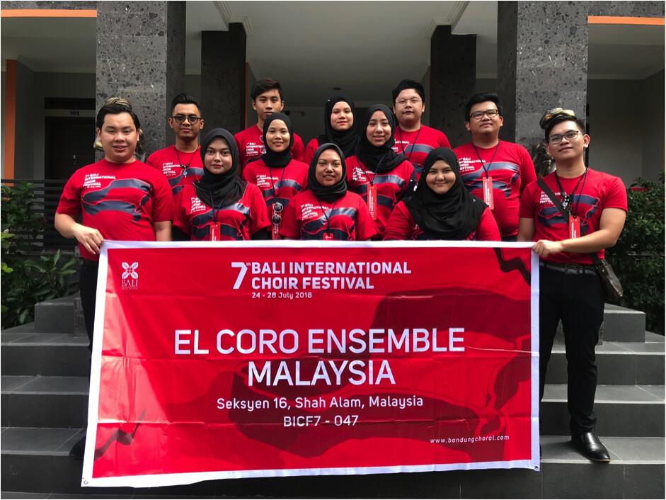 Kumpulan El Coro Ensemble Malaysia Menang Pingat Emas di Bali