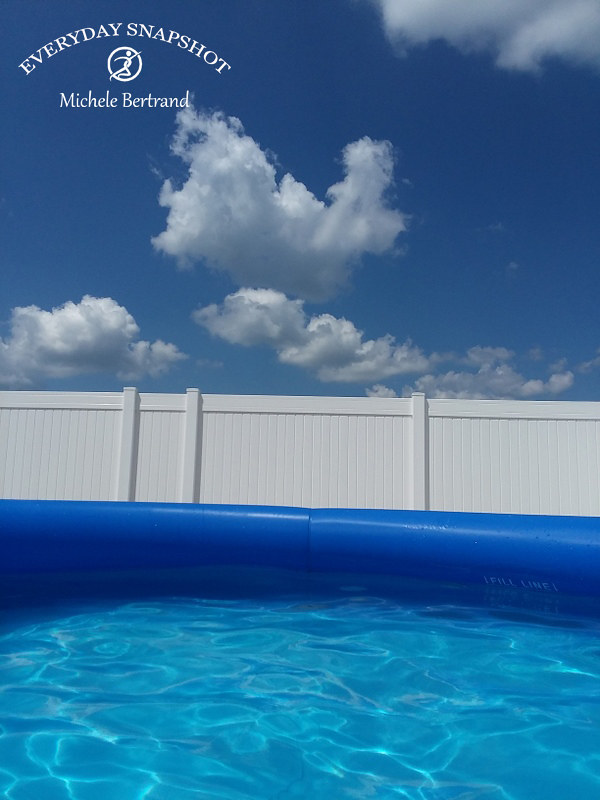 Pool and Clouds