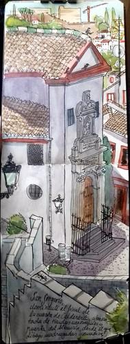 San Gregorio, en el Albaicin, Granada
