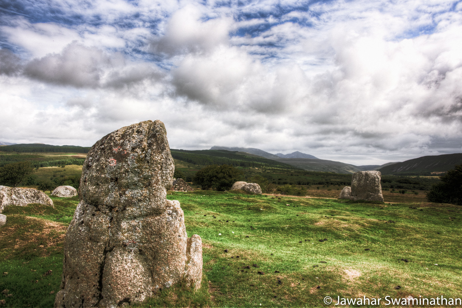 Machrie Moor Stone Circle 1